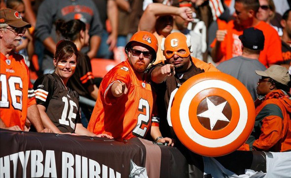 Los Angeles Browns Backers Fans