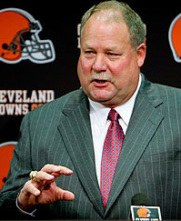 Mike Holmgren, Browns President