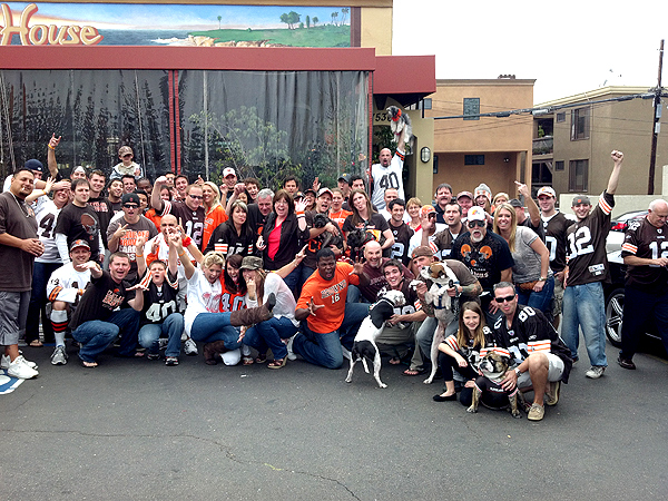La Jolla San Diego Browns Backers
