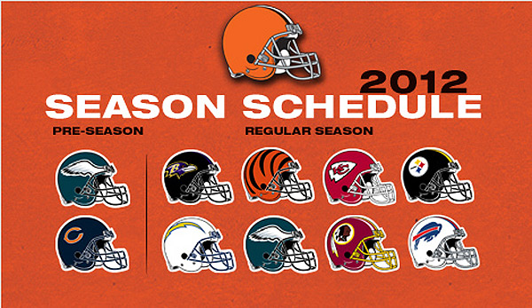 Cleveland Browns 2012 Schedule