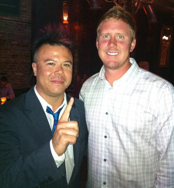 NFLPA Draft Party: Brandon Weeden of the Cleveland Browns