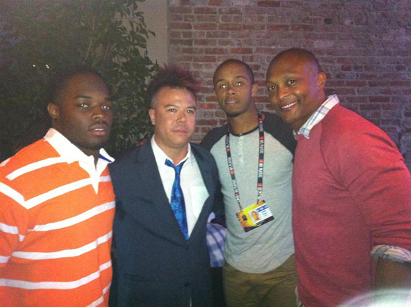 NFLPA Draft Party: Trent Richardson & Eddie Gorge, St. Felix Hollywood