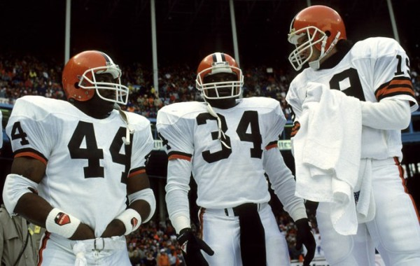 Kevin Mack & Earnest Byner